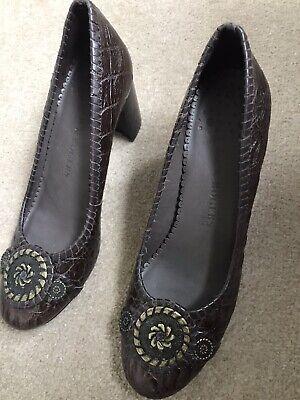 Jack Rogers Ladies Leather Shoes Size 8Uk