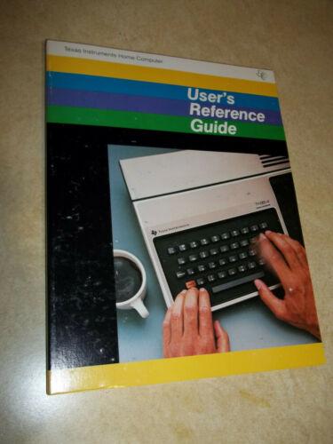 New TI-99/4 (no A) TI99 HOME COMPUTER Console USER