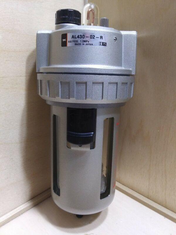 SMC AL430-02-R Pneumatic Micromist Lubricator