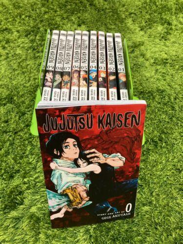 Jujutsu Kaisen Gege Akutami Manga Volume 0-9 English Comic