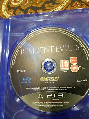 Resident Evil 6 Sony PlayStation 3 excellent condition!