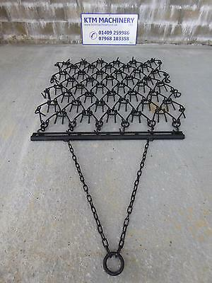 5 Foot NEW 3 way use Trailed Chain Harrow, Field, Grass Harrows 5ft by 5ft Deep