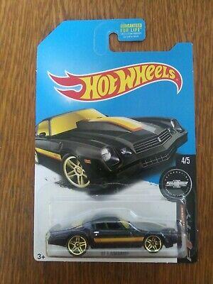 Hot Wheels  81 CAMARO TOYS R US EXCLUSIVE