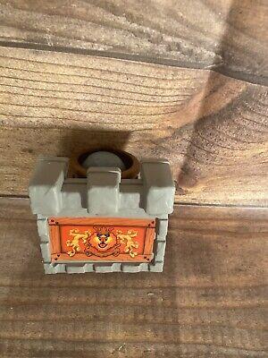 Fisher Price Great Adventures Medieval Castle1994 vintage  DOOR CANNON W/BOLDER