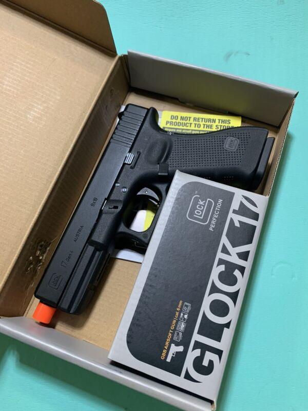 Airsoft Elite Force Glock 17 Gen4 GBB Gas Blowback Green Gas Pistol