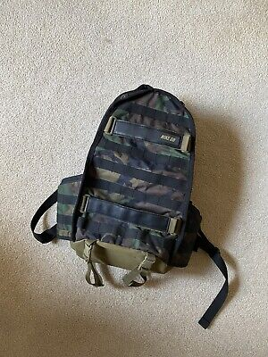 Nike SB RPM Skateboarding Backpack Camo Perfect Condition Preowned