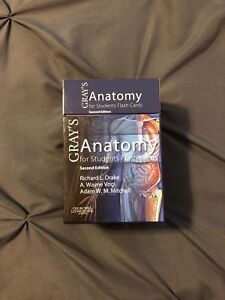 WTS: Gray's Anatomy Flash Cards