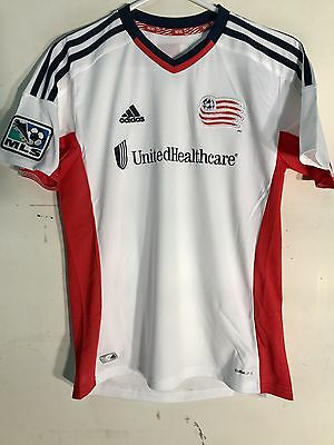 298d7e4e0 Adidas Youth MLS Jersey New England Revolution White sz M