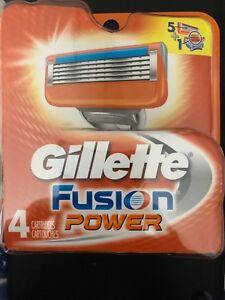 Gillette Fusion power 4's