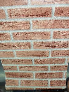 muro cucina rivestimento : ... -ADESIVA-EFFETTO-FINTO-MATTONE-MURO-RIVESTIMENTO-CUCINA-MIS-45X15-MT