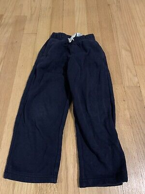 Nautica Boys Size 4t Casual Sweatpants With Pockets Navy Blue