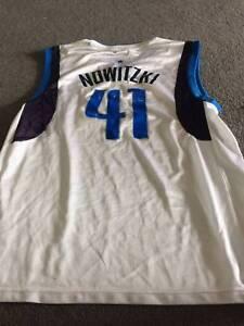 Dirk Nowitzki Dallas Mavericks Men's Basketball Jersey Bruce Belconnen Area Preview