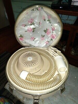VINTAGE 1950'S GENERAL ELECTRIC DELUXE HAIR DRYER-EXCELLENT CONDITION-SEE PICS!!