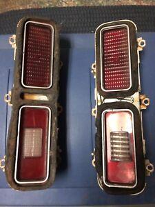 73-74 nova taillights and buckets