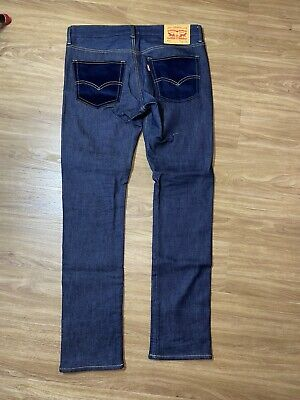Levis 510 Junya Watanabe Comme Des Garcons Man Jeans Size Medium Skinny 32x32