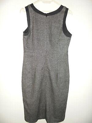 Caroll robe en tweed avec laine et soie près du corps aux genoux t36 comme neuve