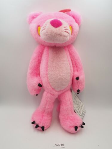 """Pink Panther A3010 CHAX Gloomy Bear Plush 11"""" TAG Stuffed Toy Doll Japan"""