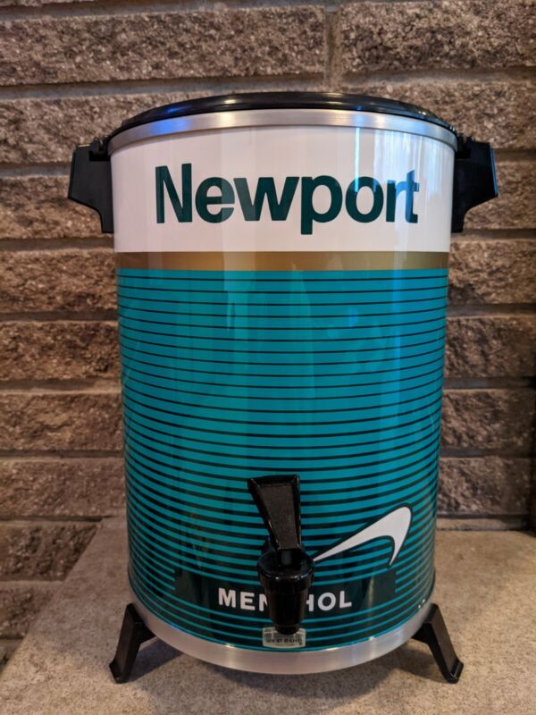 Vintage NEWPORT Cigarettes Menthol Brand New WESTBEND 12-30 CUP COFFEEMAKER RARE