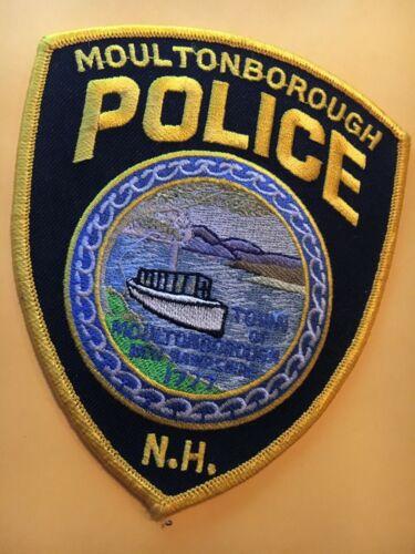Moultonborough New Hampshire Police Patch
