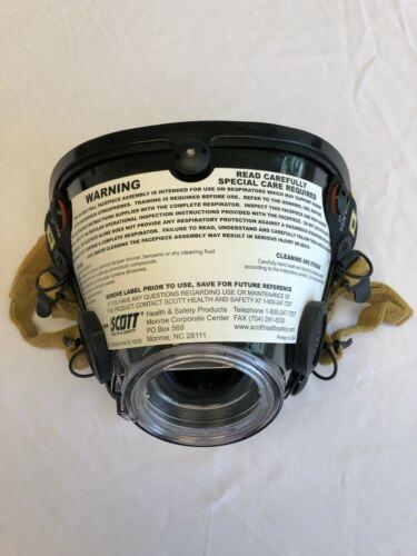 Scott full face mask AV2000 size Large MASK, new in bag. KEVLAR(DUPONT) MESH