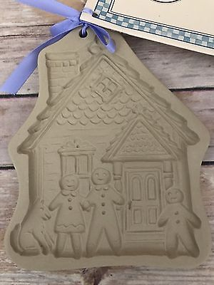 Brown Bag Designs 2007 Rare Cookie Mold Our House Habitat For Humanity New