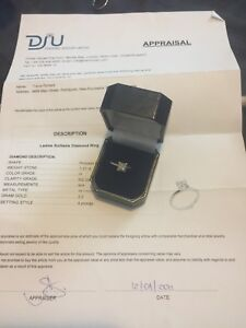 Huge 1.21ct diamond solitaire engagement ring for trade