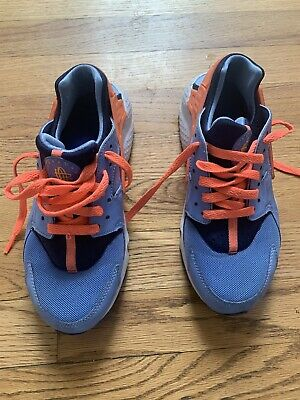 Nike Huarache Girls Size 5y 654275-036 Mutlicolor Running Athletic Shoes