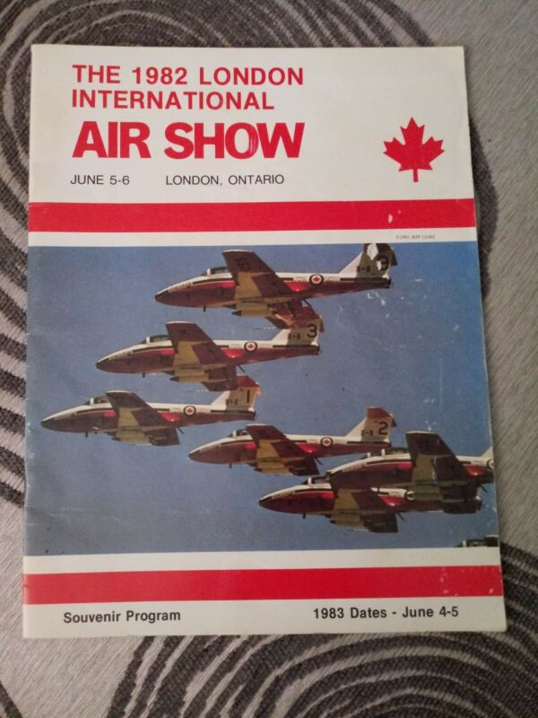 1982 London, Ontario International Airshow Program - London ON