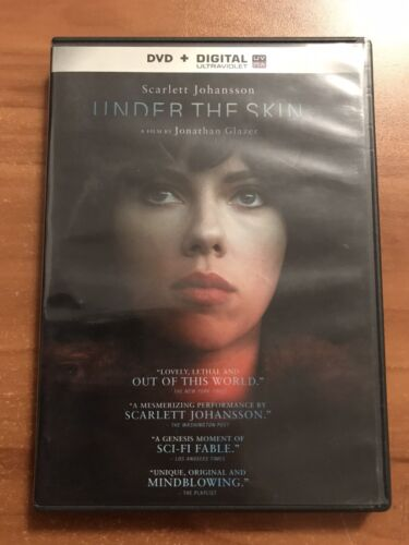 Under The Skin DVD, 2014  - $8.00