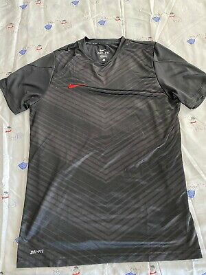 Nike Soccer Dri Fit Training Jersey Shirt Ronaldo Mens Camiseta Size Large L