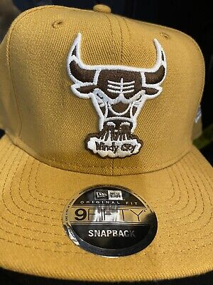 New Era Fitted Windy City Chicago Bulls Hats