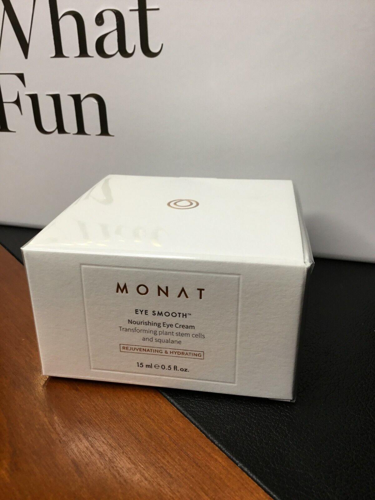 Monat Eye Smooth Nourishing Eye Cream 0 5 Oz New Sealed