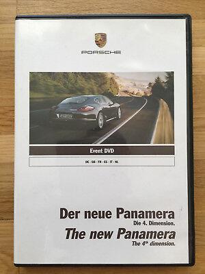 Porsche Event DVD Der neue Panamera 08/2009 WSRP090111S200