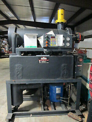Zeks Model 3200hsdma40s 460 Volt 3ph Pneumatic Dryer W2 10.5 Hp Compressors