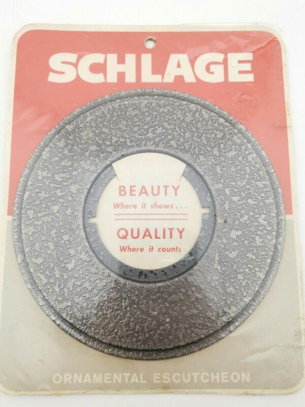 Vintage Schlage Ornamental Escutcheon - Claremont 621(17A)