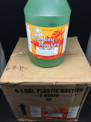 Slush Mix Drink Concentrate Monk Margarita Frozen Beverage Mix Case 4 1 Gallon
