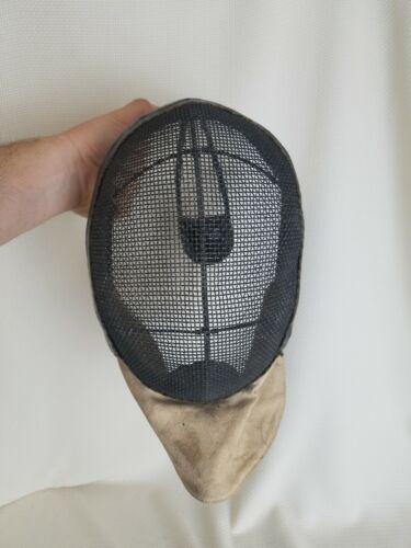 Antique / Vintage Mesh Fencing Helmet Mask Face Protector (French or German)?