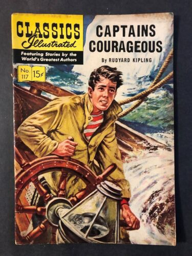 Classics Illustrated #117 Captain Courageous  HRN 118