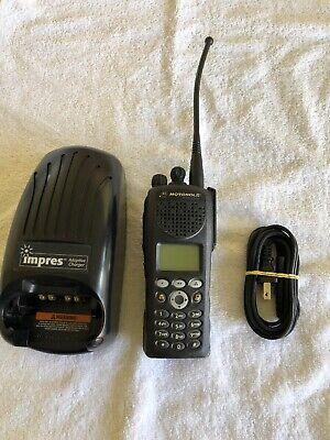 Motorola Xts2500 Iii 700800 Mhz Digital P25 Police Fire Ems Radio H46uch9pw7an
