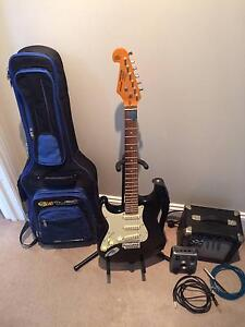 SX Custom Made Vintage Series Electric Guitar and Accessory Set Breakfast Point Canada Bay Area Preview