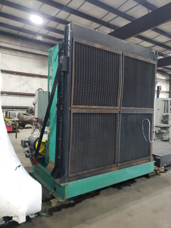 80 Gallon Industrial Radiator With 50 Hp 3 Phase Cooling Fan #213FML