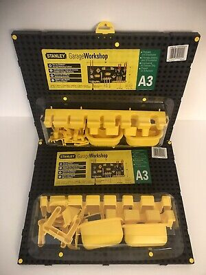 Stanley Garage Workshop Plastic Pegboard Kit A3 4 Pegboards With Accessories