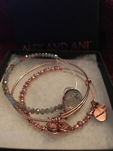 Three Bracelets Alex and Ani - worn once