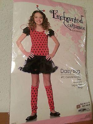 ENCHANTED COSTUMES DAISY BUG CHILD SIZE LARGE 10-12 - Daisy Bug Costume