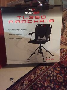 BNIB High Quality Hunting chair & heated camo cushion