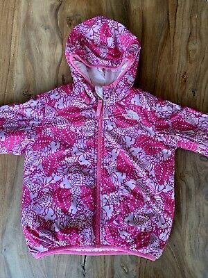 The North Face Reversible Perrito Jacket 3T Pink