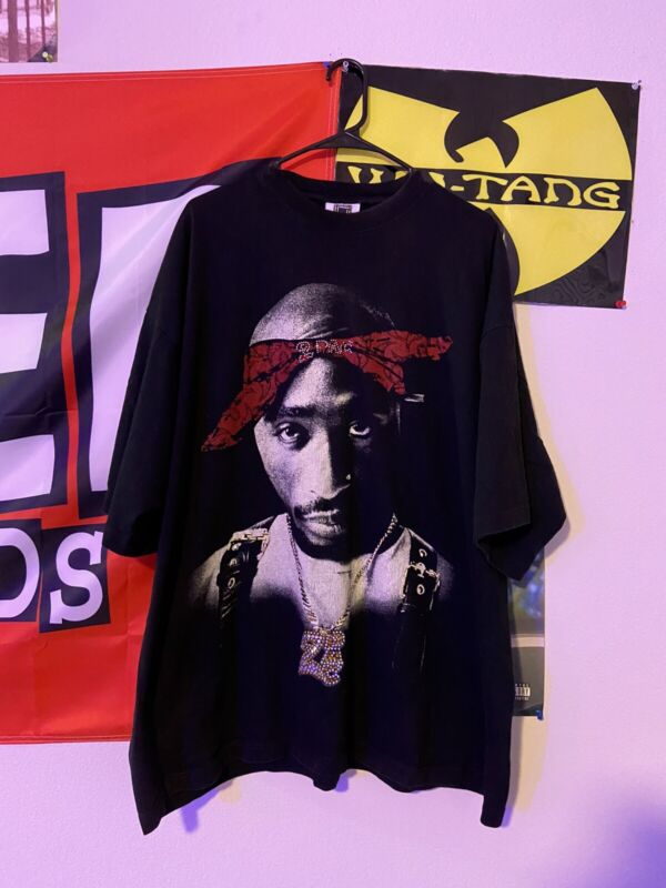 VTG 90s Tupac 2PAC Only God Can Judge Me Pro USA Mens Rap Tee T Shirt XXL