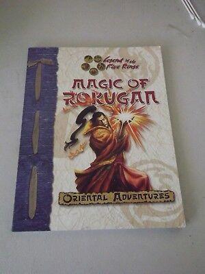 Magic Of Rokugan Oriental Adventures Legand Of The Five Rings