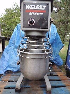 Welbilt Varimixer W20 1ph. Includes Bowl Dolly Cart