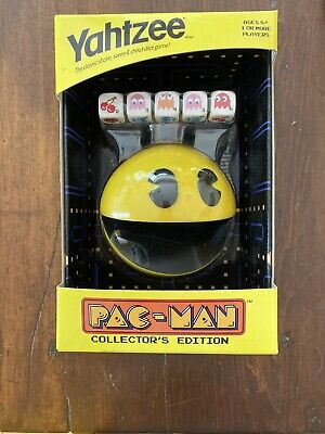 Yahtzee Pac Man Pacman Collector's Edition Dice Board Game 2013 BRAND NEW!!
